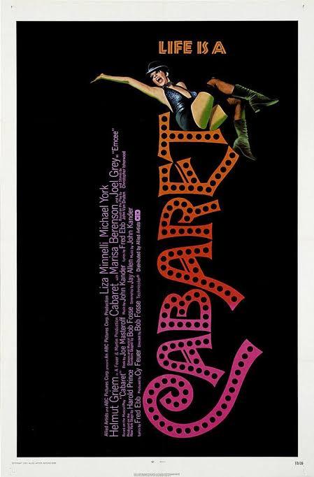 """Resultado de imagen para cabaret 1972"""""""
