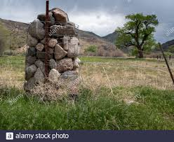 Wire Gabion Rock Fence High Resolution Stock Photography And Images Alamy