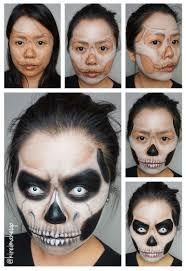 grim reaper halloween makeup kirei makeup