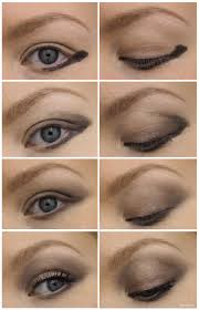 how to makeup for downturned eyes