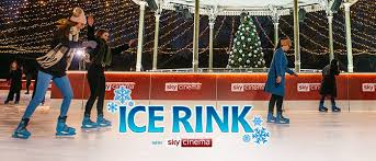 winter wonderland ice skating in london