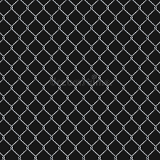 Seamless Realistic Chain Link Fence Background On Black Stock Vector Illustration Of Graphic Hole 130711036