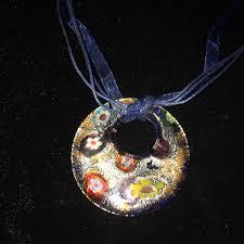 murano glass pendant necklace 2