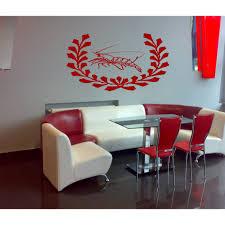 Shop A Restaurant Cancer Shrimp Wall Art Sticker Decal Red Overstock 11762407