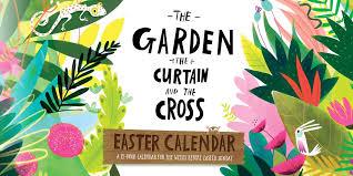 curtain and the cross easter calendar