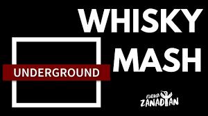 homemade whisky mash and barreling