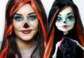monster high makeup tutorial for halloween