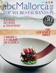 115th Abcmallorca 101 Top Restaurants 2018 By Abcmallorca Issuu