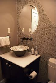 oil rubbed bronze wall mirror with