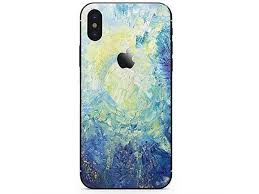 Iphone Bottom Decal Vinyl Skin Sticker Cover Antiscratch Decal For Apple Iphone Night Sky Iphone X Newegg Com