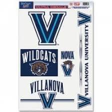 Villanova University Stickers Decals Bumper Stickers