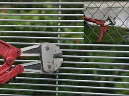 358 Anti Climb Fence Welded High Security Prison Mesh Fencing