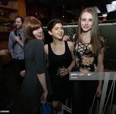 Kristin Barnes, Hilary Beck and Anastasiya Tikhonenko attend the... News  Photo - Getty Images