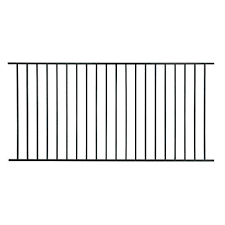 Pool Metal Fence Panels Metal Fencing The Home Depot
