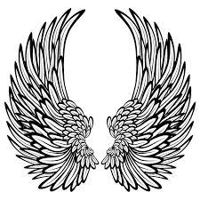 Decorative Angel Wings Wall Sticker Decal World Of Wall Stickers