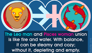 leo man and a pisces woman