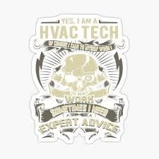 Hvac Stickers Redbubble