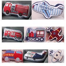 Cartoon Fire Truck Train Fighter Plane Shape Cushion Pillow Kids Bed Room Decor Calm Sleep Dolls Toys Boys Love Photo Props Pillow Kids Doll Toyssleeping Toy Aliexpress