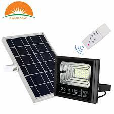 60w ip67 waterproof solar flood light