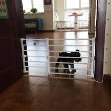 2 Size Adjustable Pet Dog Gate Dog Fence Pet Isolating Gate Indoor Playpen For Dog Space Saving Closet Organizer Aliexpress