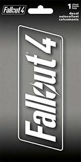 Video Game 7198 Fallout 4 Window Decal Sticker Brand New Fibsol Com