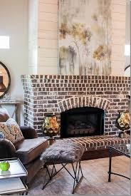 raised brick hearth or flat tile