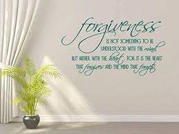 Amazon Com Wall Decal Bible Vinyl Stickers Forgiveness Ty027 Made In Usa Message For Color Kitchen Dining