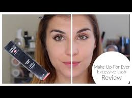 make up for ever excessive lash review