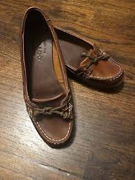 brown leather boat shoes womens