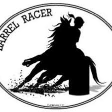 Horse Decal Barrel Racing Equestrian I From Amazon Epic