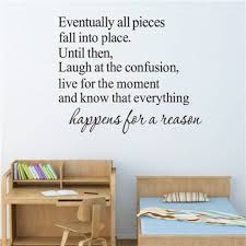 Happywallph Happens For A Reason Wall Sticker Shopee Philippines