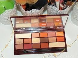 chocolate bar eyeshadow palettes boxed