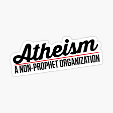 Atheist Stickers Redbubble