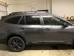 Crux Motorsports Window Chrome Delete Kit For 2020 Subaru Outback Crux Motorsports