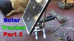 diy solar tracker part 2 horizontal