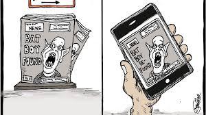 Liccar cartoon: Fake news | Mail Tribune
