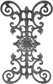 Cast Iron Fence Panels Parts