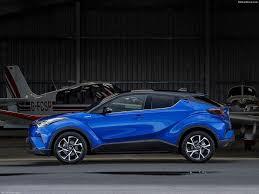 toyota c hr cars suv blue wallpaper