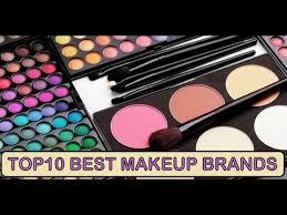 top10 best makeup brands in the world