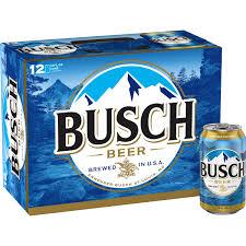 busch beer 12 pack beer 12 fl oz cans