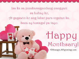 tagalog anniversary messages greetings com