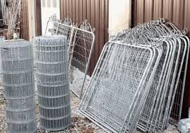 Double Loop Wire Fencing Gates