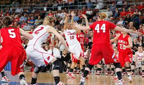 Class 3A state tournament: Kelsey Barnwell leads Kansas girls past Prague,  to 3A title game