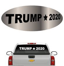 Vote Donald Trump 2020 Windshield Banner Car Decal Topchoicedecals