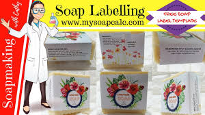 how to label soap diy beginners easy