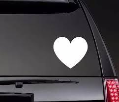 Solid Heart Car Body Stickers Window Door Decal Funny Top Quality Waterproof Zp0275 Car Stickers Aliexpress