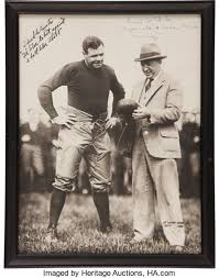 1926 Babe Ruth & Knute Rockne Inscribed Photograph.... Autographs | Lot  #80748 | Heritage Auctions