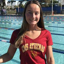Annie Johnson   CollegeSwimming