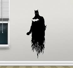 S82 Batman And Harley Quinn Wall Decal Mural Arkham Knight Batman Wall Mural