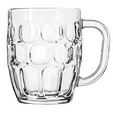 libbey 5355 19 1 4 oz dimple stein beer mug